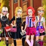 العاب تلبيس خمس بنات